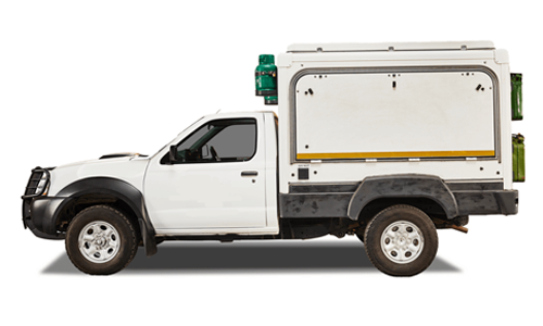 Nissan Single Cab Bushcamper 4x4