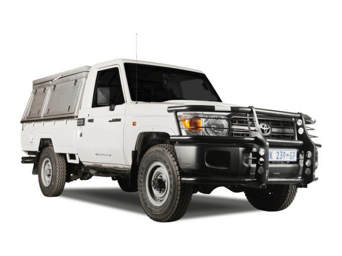 Toyota Landcruiser Single Cab Equipped