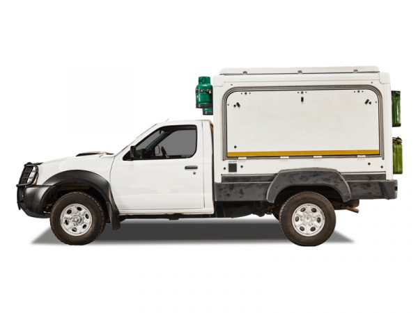 Nissan Single Cab 4x4 Trax Camper TX